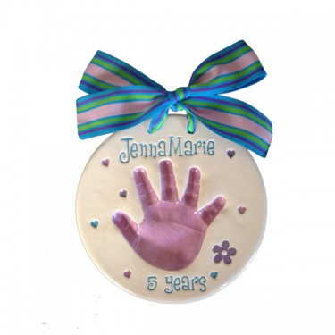 Single Handprint Plaque