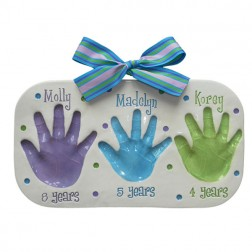 Sibling Plaque - 3 Children