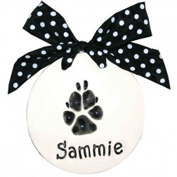 Single Paw Print Plaque