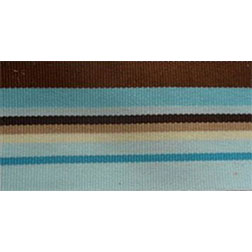 Blue Brown Stripe