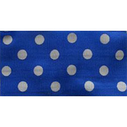 Dark Blue Polka Dots