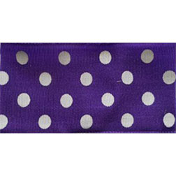 Royal Purple Polka Dots