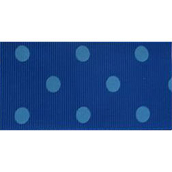 Sea Blue Polka Dots
