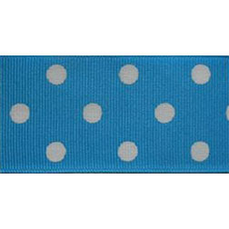 Turquoise Polka Dots